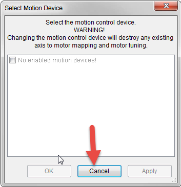 Select Motion Device